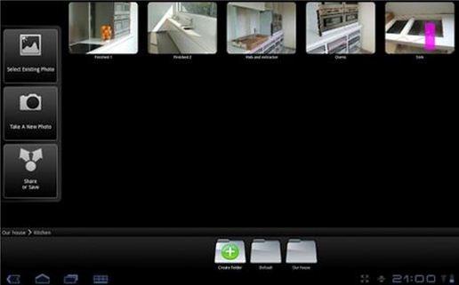 Android Apps for Interior Design & Architecture D-Photo Measures Free