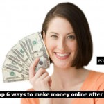 Top 6 ways to make money online after job