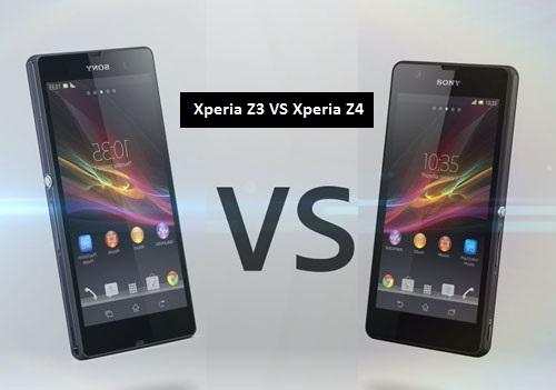 Xperia Z3 VS Xperia Z4