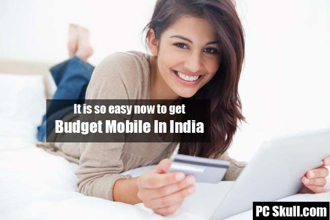 Budget Mobiles Online in India
