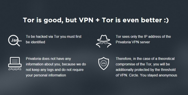 Tor and VPN Network
