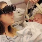 blind woman sees baby for first time - eSight Eyewear