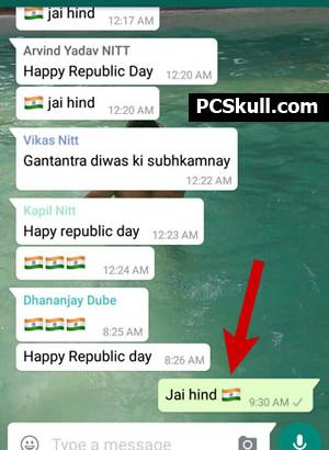Send WhatsApp Group Message