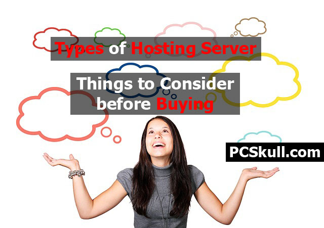 Types of Hosting Server