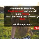 responsibility of women empowerment to treat women well