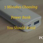 Mistakes Choosing Power Bank