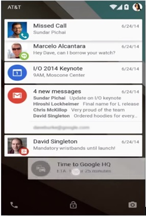 android app push notifications