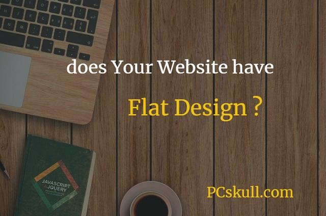 advantages and disadvantages of flat design